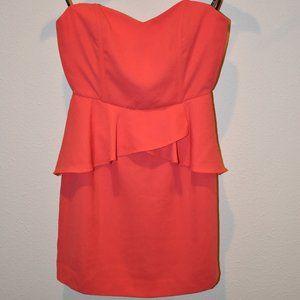 Coral Dress w/ Tag